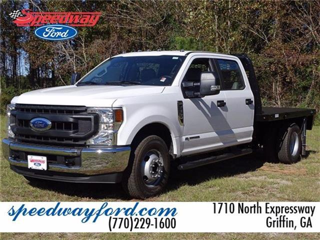 2020 Ford F-350 Crew Cab DRW 4x2, Knapheide Platform Body #20F217 - photo 1