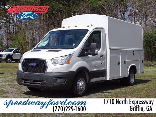 2020 Ford Transit 350 HD DRW 4x2, Knapheide Service Body #20F245 - photo 1