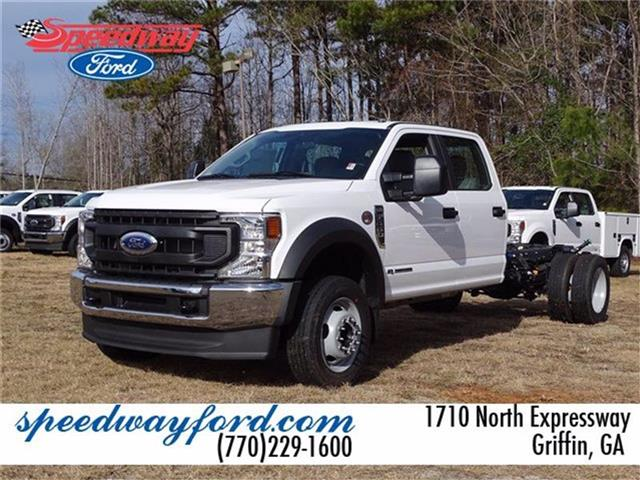 2021 Ford F-550 Crew Cab DRW 4x2, Cab Chassis #21F046 - photo 1