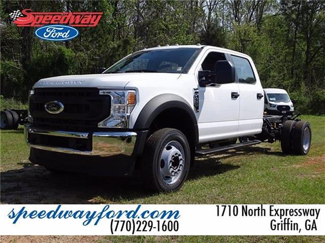 2021 Ford F-450 Crew Cab DRW 4x2, Cab Chassis #21F161 - photo 1