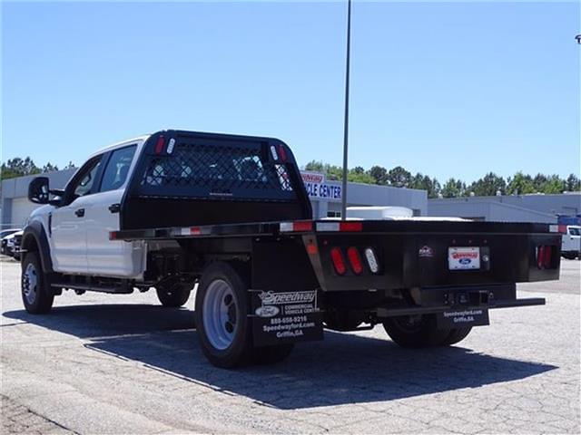 2021 Ford F-550 Crew Cab DRW 4x2, K&K Manufacturing Platform Body #21F168 - photo 1