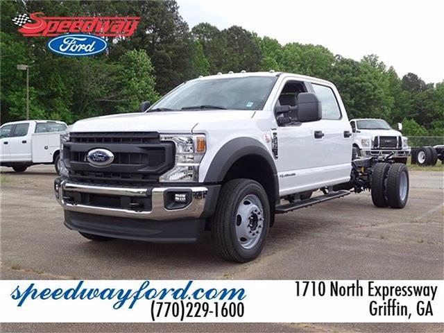 2021 Ford F-550 Crew Cab DRW 4x4, Cab Chassis #21F201 - photo 1