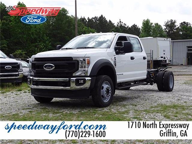 2021 Ford F-550 Crew Cab DRW 4x4, Cab Chassis #21F202 - photo 1