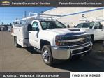 2018 Silverado 3500 Regular Cab DRW 4x2,  Royal Contractor Body #JF267273 - photo 1