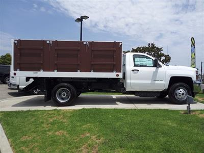 2018 Silverado 3500 Regular Cab DRW 4x2,  Royal Platform Body #JF270537 - photo 4