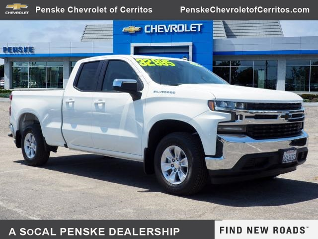 Penske Chevrolet Of Cerritos >> 2019 Silverado 1500 Double Cab 4x2 Pickup Stock Kz180409