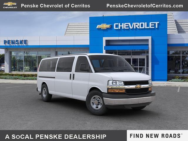 2020 Chevrolet Express 3500 4x2, Passenger Wagon #L1206521T - photo 1