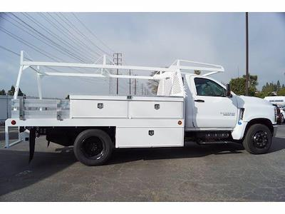 2020 Silverado 5500 Regular Cab DRW 4x2,  Scelzi CTFB Contractor Body #LH253265 - photo 6