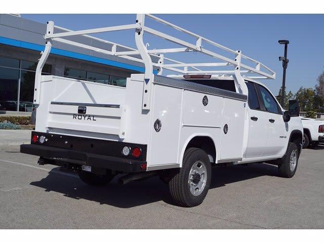 2021 Chevrolet Silverado 2500 Double Cab 4x2, Royal Service Body #MF174169 - photo 1