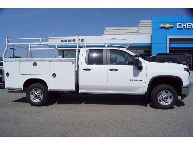 2021 Silverado 2500 Double Cab 4x2,  Royal Truck Body Service Body #MF230611 - photo 4