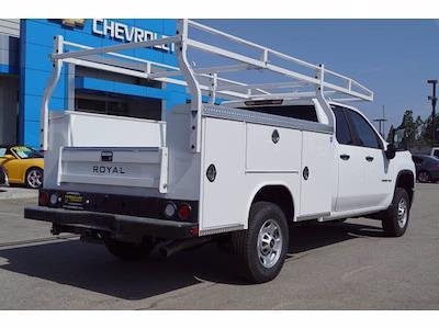 2021 Silverado 2500 Double Cab 4x2,  Royal Truck Body Service Body #MF230611 - photo 2