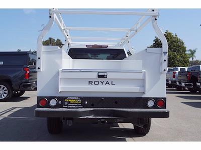 2021 Silverado 2500 Double Cab 4x2,  Royal Truck Body Service Body #MF230611 - photo 6