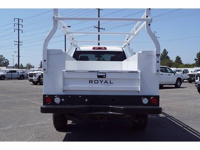 2021 Silverado 2500 Regular Cab 4x2,  Royal Truck Body Service Body #MF232843 - photo 6
