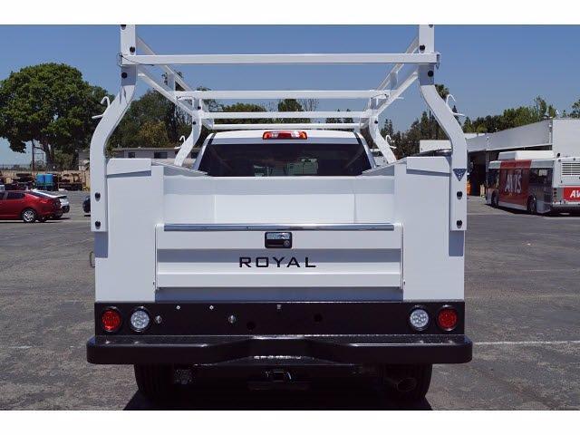 2021 Silverado 2500 Regular Cab 4x2,  Royal Truck Body Service Body #MF232918 - photo 6