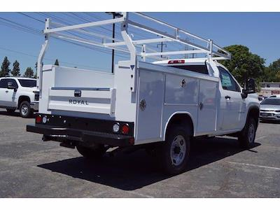 2021 Silverado 2500 Regular Cab 4x2,  Royal Truck Body Service Body #MF232918 - photo 2