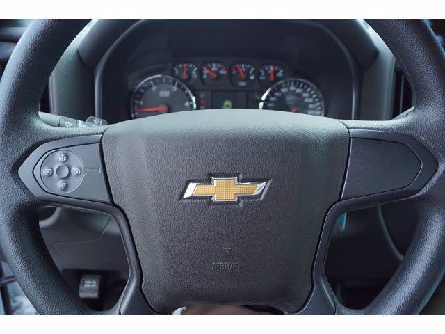 2021 Silverado 4500 Regular Cab DRW 4x2,  Royal Truck Body Platform Body Stake Bed #MH663350 - photo 10