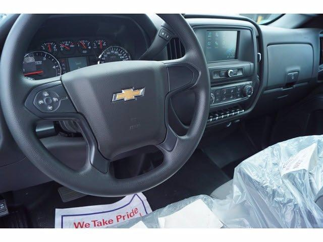 2021 Silverado 4500 Regular Cab DRW 4x2,  Royal Truck Body Platform Body Stake Bed #MH663350 - photo 7