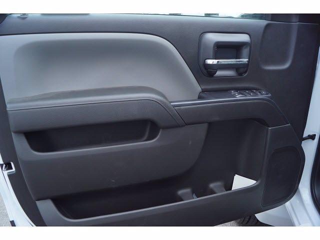2021 Silverado 4500 Regular Cab DRW 4x2,  Royal Truck Body Platform Body Stake Bed #MH663350 - photo 8