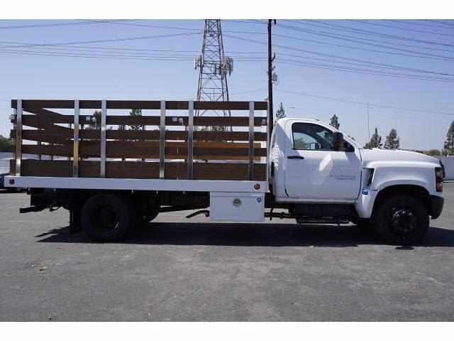 2021 Silverado 4500 Regular Cab DRW 4x2,  Royal Truck Body Platform Body #MH663351 - photo 3