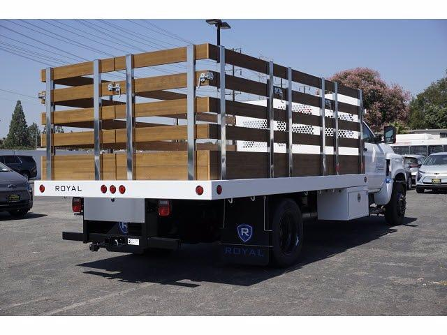 2021 Silverado 4500 Regular Cab DRW 4x2,  Royal Truck Body Platform Body #MH663351 - photo 5