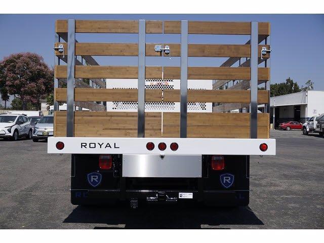 2021 Silverado 4500 Regular Cab DRW 4x2,  Royal Truck Body Platform Body #MH663351 - photo 6