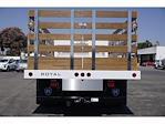 2021 Silverado 4500 Regular Cab DRW 4x2,  Royal Truck Body Platform Body Stake Bed #MH663351 - photo 6