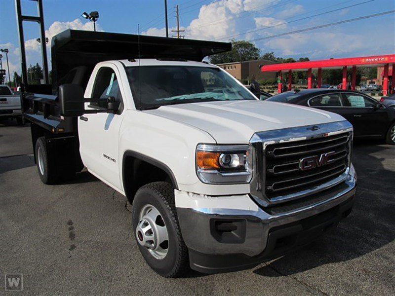 2015 Sierra 3500 Regular Cab 4x4, Rugby Dump Body #15G151 - photo 3