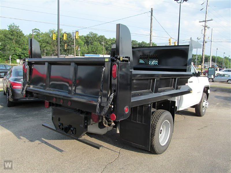 2015 Sierra 3500 Regular Cab 4x4, Rugby Dump Body #15G151 - photo 5