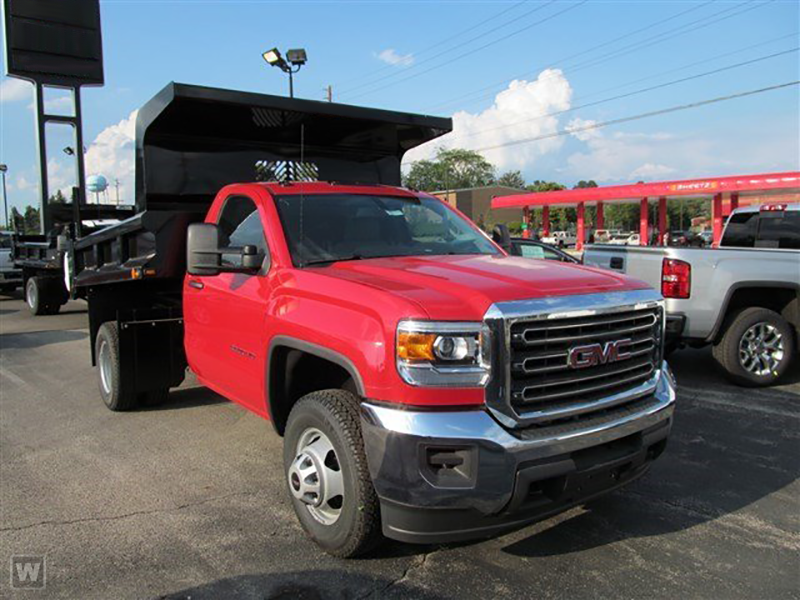 2015 Sierra 3500 Regular Cab 4x4, Rugby Dump Body #15G153 - photo 3