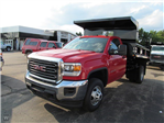 2015 Sierra 3500 Regular Cab 4x4, Rugby Dump Body #15G153 - photo 1