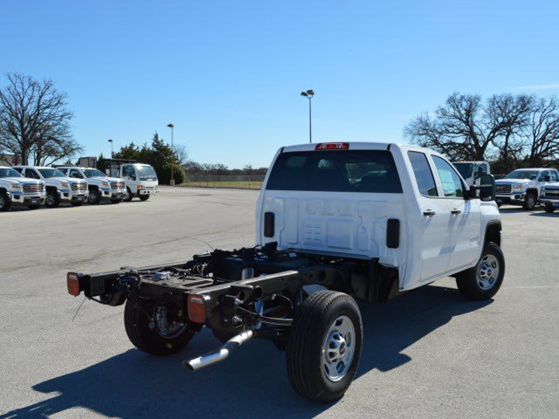 2015 Sierra 2500 Double Cab 4x2,  Cab Chassis #250311 - photo 2