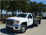2015 Sierra 3500 Regular Cab 4x2,  Knapheide Platform Body #KNAP250874 - photo 1