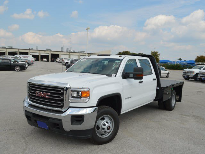 2015 Sierra 3500 Crew Cab 4x2,  CM Truck Beds Platform Body #251033 - photo 1