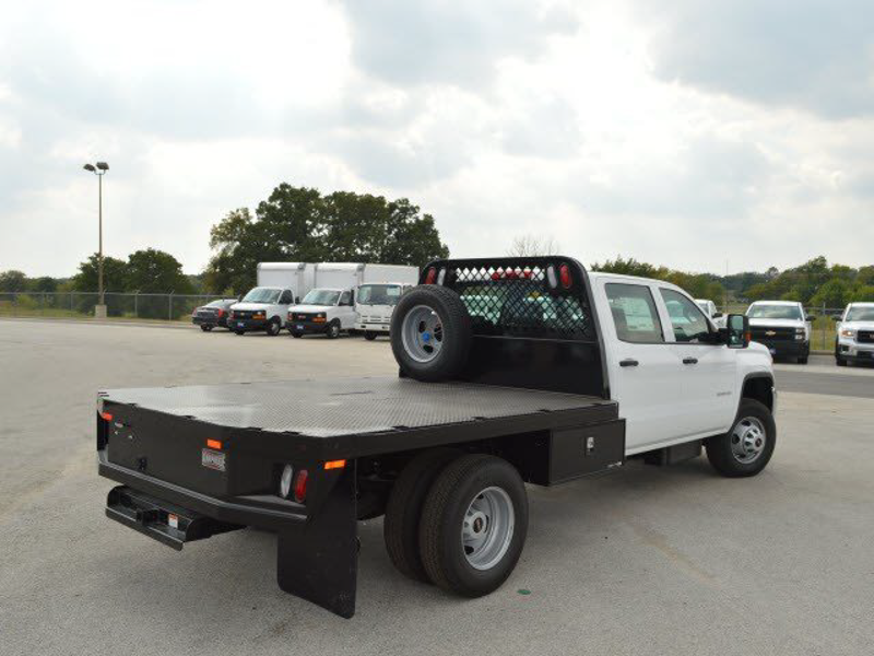 2015 Sierra 3500 Crew Cab 4x2,  CM Truck Beds Platform Body #251033 - photo 2