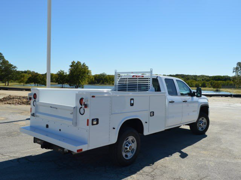 2015 Sierra 2500 Double Cab 4x2,  Knapheide Standard Service Body #KNAP251115 - photo 2