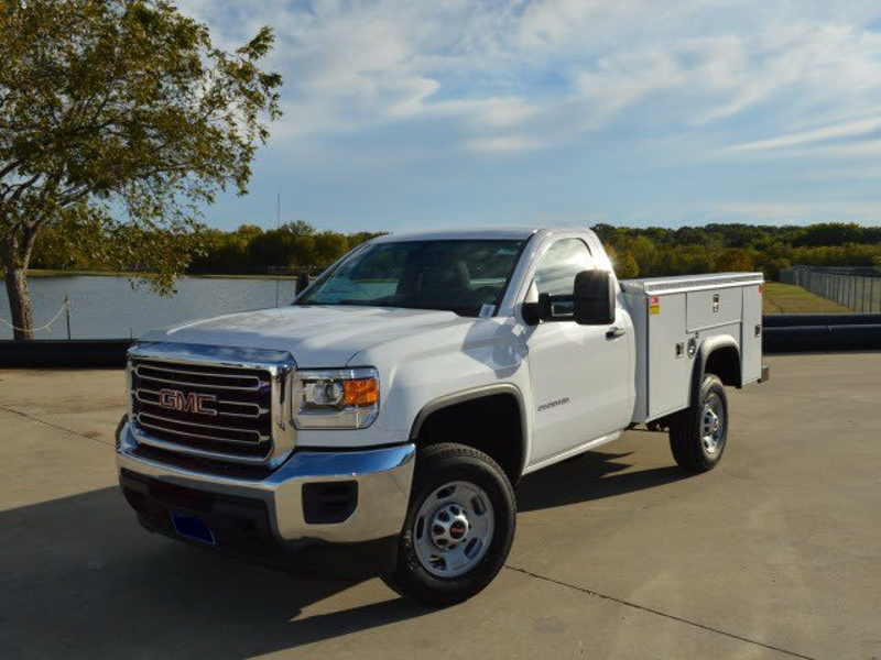 2015 Sierra 2500 Regular Cab 4x2,  Monroe MSS II Deluxe Service Body #251368 - photo 1