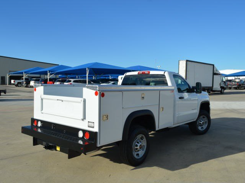 2015 Sierra 2500 Regular Cab 4x2,  Monroe MSS II Deluxe Service Body #251368 - photo 2