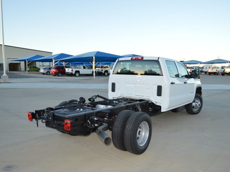 2015 Sierra 3500 Crew Cab 4x4,  Cab Chassis #251418 - photo 1