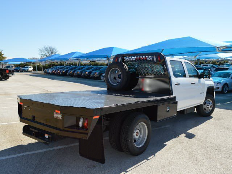 2015 Sierra 3500 Crew Cab 4x2,  CM Truck Beds Platform Body #251657 - photo 2
