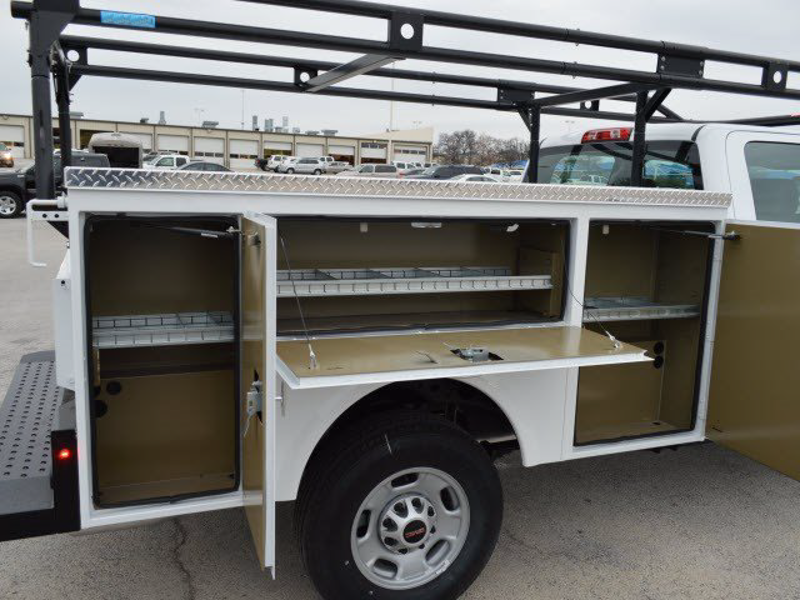 2015 Sierra 2500 Double Cab 4x2,  Royal Service Body #251788 - photo 3