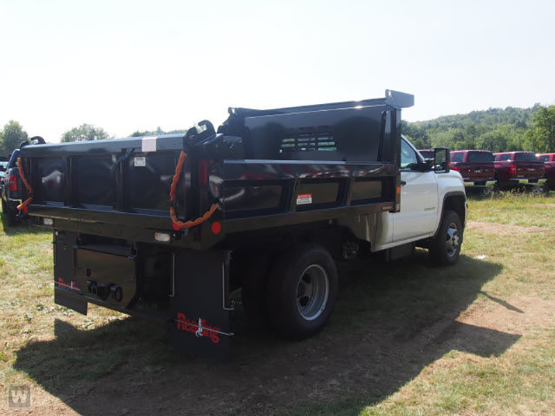 2015 Sierra 3500 Regular Cab 4x4, Reading Dump Body #REAF547555 - photo 2