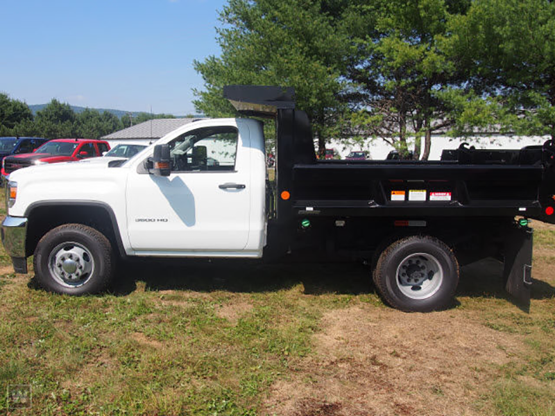 2015 Sierra 3500 Regular Cab 4x4, Reading Dump Body #REAF547555 - photo 4