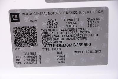 2021 GMC Sierra 1500 Crew Cab 4x4, Pickup #G42557 - photo 31