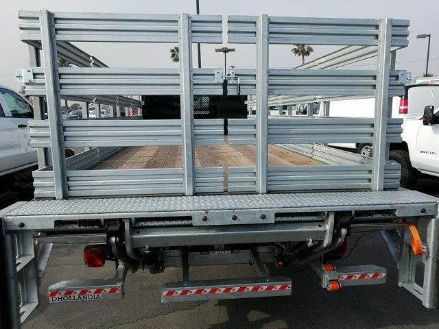 2019 Silverado Medium Duty DRW 4x2,  Morgan Truck Body - Riverside Stake Bed #192595T - photo 7