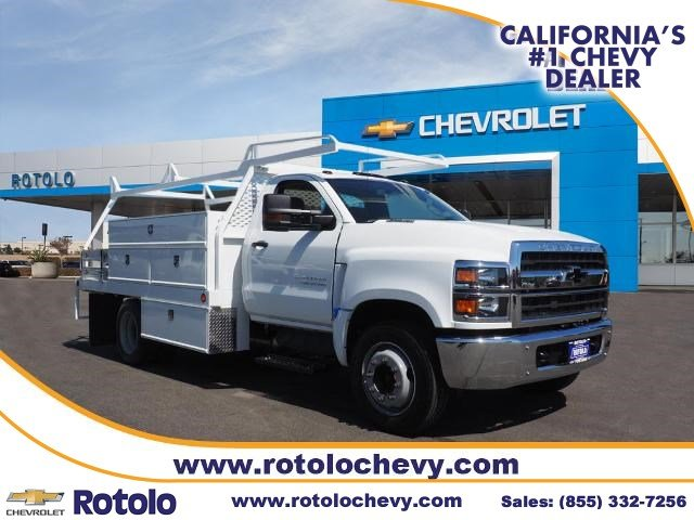 2019 Chevrolet Silverado 4500 Regular Cab DRW RWD, Scelzi Contractor Body #193664T - photo 1