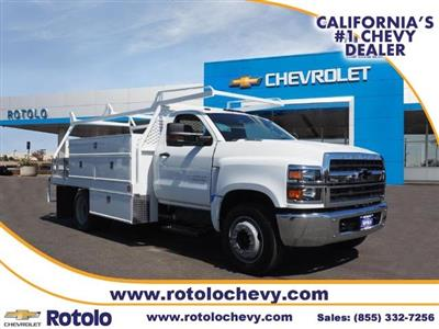 2019 Chevrolet Silverado 4500 Regular Cab DRW RWD, Scelzi SCTFB Contractor Body #193664T - photo 1