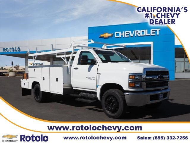 2019 Chevrolet Silverado 5500 Regular Cab DRW 4x2, Harbor Combo Body #194613K - photo 1