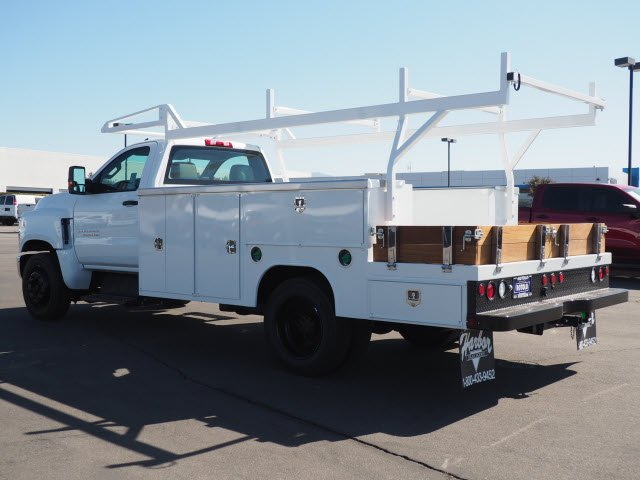 2019 Chevrolet Silverado 5500 Regular Cab DRW RWD, Harbor Combo Body #194613K - photo 1