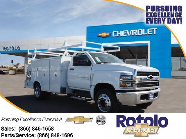 2019 Chevrolet Silverado 5500 Regular Cab DRW 4x2, Royal Combo Body #194861K - photo 1