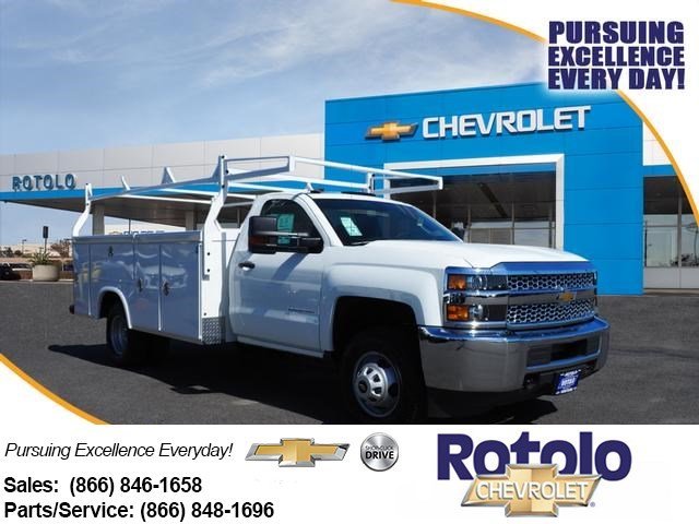 2019 Silverado 3500 Regular Cab DRW 4x2, Royal Service Body #194964TX - photo 1
